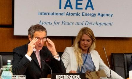 Rafael Grossi opens IAEA meeting