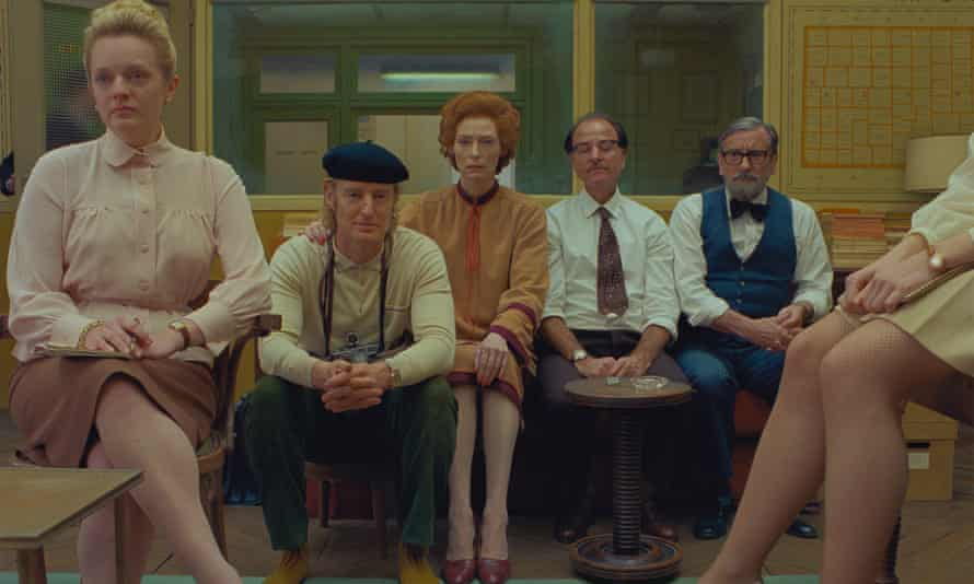 Wes Anderson's The French Dispatch.