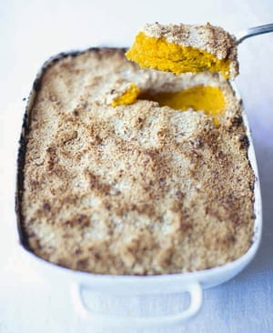 A crumble-cake made with squash – they'll never guess what's in it.