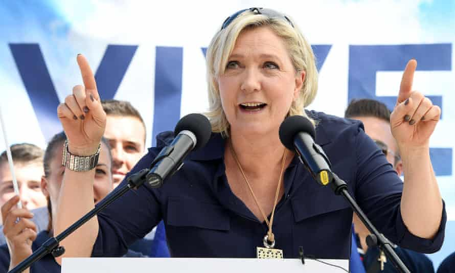 'The populist leader identifies himself – or herself, in the case of Marine Le Pen – as the single voice of the people.'
