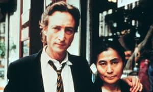 John Lennon and Yoko One, May 1980.