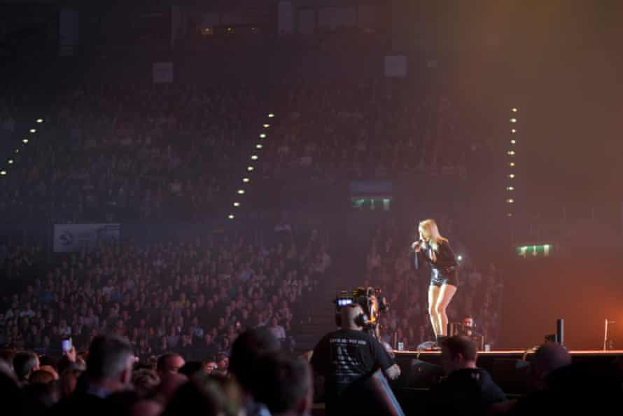 Ellie Goulding at the Barclaycard Arena