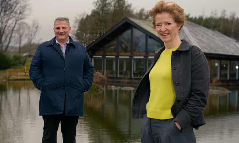 Tebay CEO Nabil (left) and Tebay Chair Sarah Dunning ... A Lake District Farm Shop.
