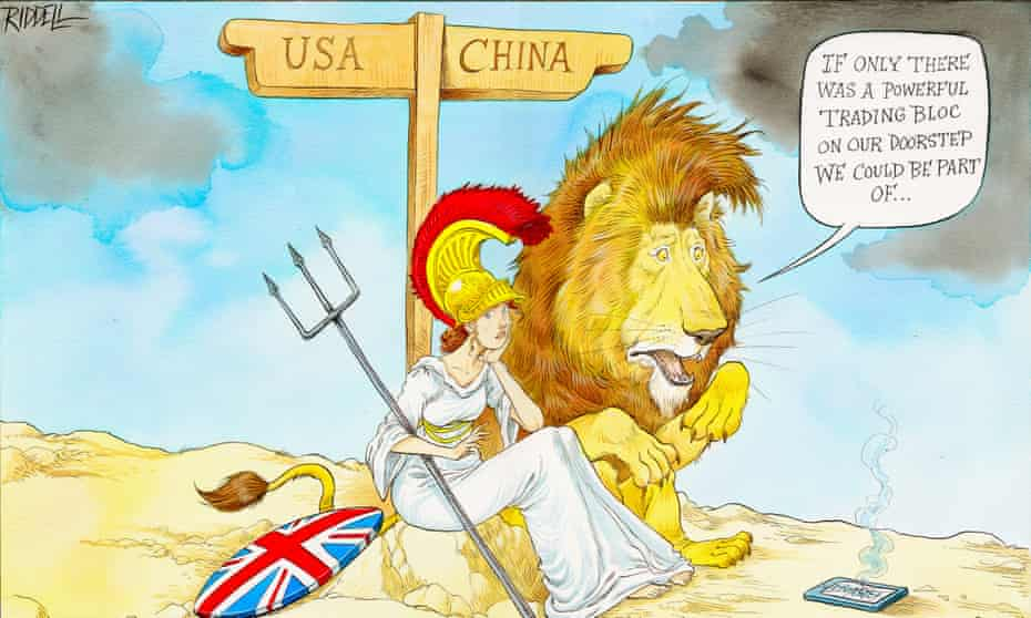 Powerful Trading Bloc by Chris Riddell