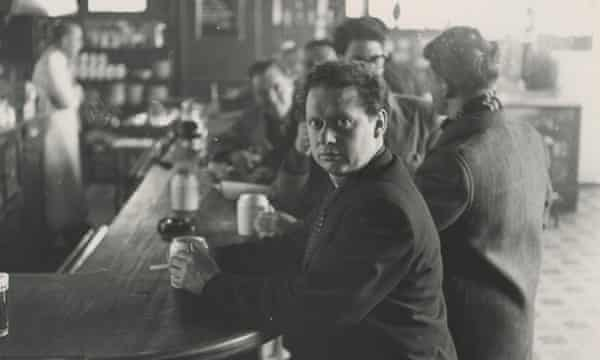 Dylan Thomas in the White Horse Tavern New York