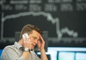 Stocks fall, Frankfurt, Germany - 03 Dec 2015<br>Mandatory Credit: Photo by Action Press/REX Shutterstock (5470587b) Germany's DAX slumped sharply down 3.1% as ECB stimulus plans disappoint Stocks fall, Frankfurt, Germany - 03 Dec 2015