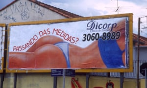 A 2002 advertisement for cosmetic surgery in Brazil.