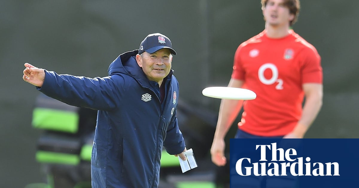 Eddie Jones always had to rebuild – but now there is scaffolding everywhere | Robert Kitson