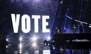 Demi Lovato performs Commander in Chief