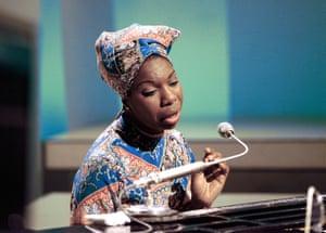 Nina Simone at BBC TV Centre, 1966