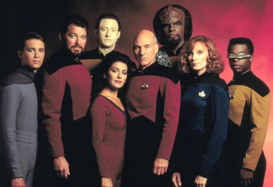 Star Trek: The Next Generation destigmatised mental health