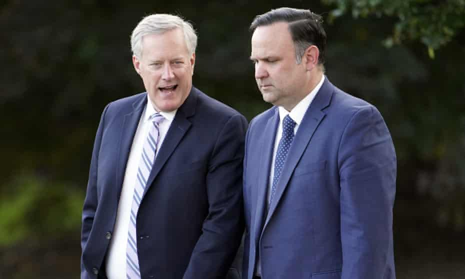 Donald Trump's chief of staff Mark Meadows and deputy chief of staff Dan Scavino are being considered for subpoenas by the Capitol attack committee.