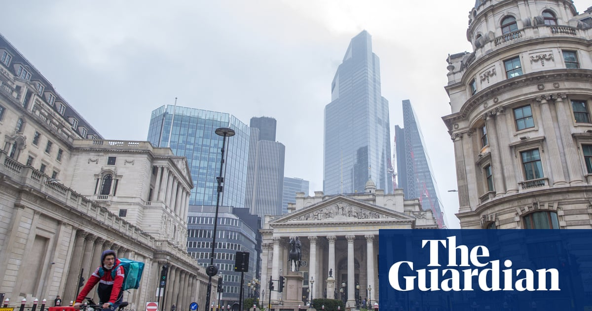 Rising inflation could trigger global sell-off that would harm UK, says Bank