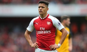 Alexis Sánchez is out of contract at the end of the season