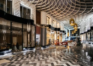'Robo-gothic': inside the almost complete Victoria Gate shopping centre in Leeds, which 'takes strands of the city's architectural DNA and mutates them'.