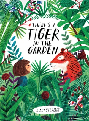 PROFESSIONAL CATEGORY WINNER LIZZY STEWART THERE'S A TIGER IN THE GARDEN Playful illustrations for children's book 'There's a Tiger in the Garden'. There's A Tiger in the Garden is a picture book for children that tackles the big question: how do you know if you are real? The book features vibrant artwork that's full of texture and character, and scenes that are immersive and escapist at the same time, and reflect the key theme of the book. Commissioned by Frances Lincoln Children's Books for Quarto.