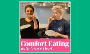 Grace Dent Mae Martin comfort eating podcast artwork