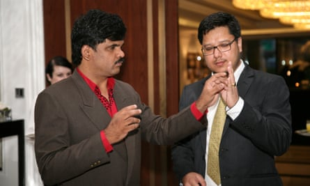 Zamir Dhale (Left) and Sachin Rizal Interpreter (Right)