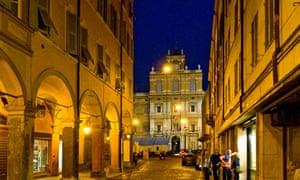 Italy, Emilia Romagna, Modena, the Palazzo Ducale
