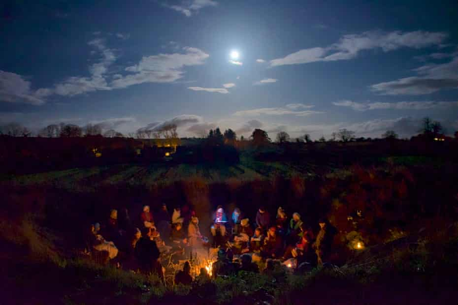 A stargazing and storytelling group in Cloughjordan.