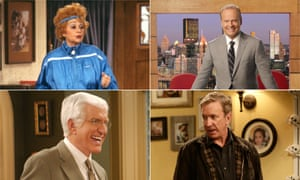 Lucille ball in Life With Lucy, Kelsey Grammer in Back To You, Tim Allen in Last Man Standing and Dick Van Dyke in The New Dick Van Dyke Show.