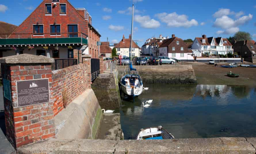 Emsworth harbour, part of Chichester harbour in  Hampshire.