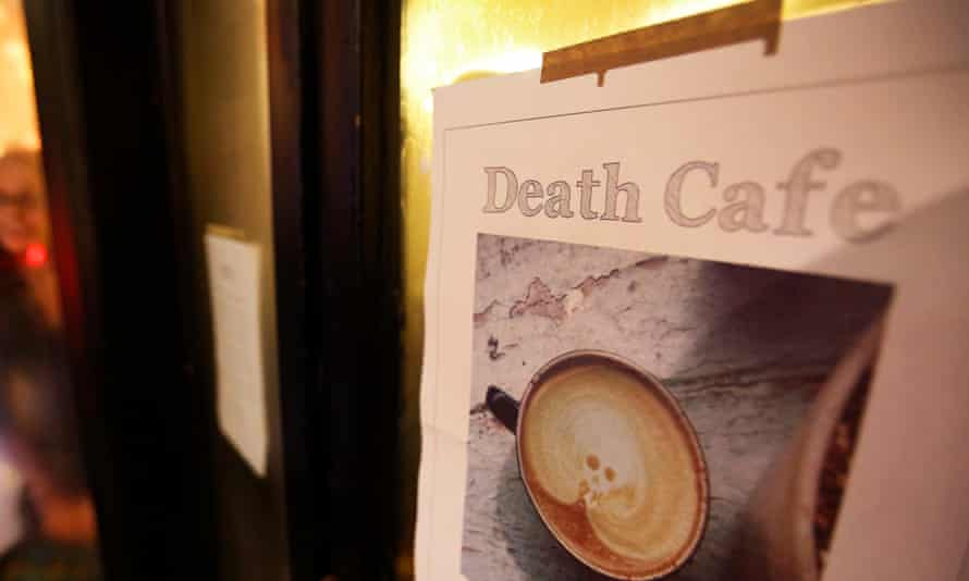 A death cafe in Edinburgh, 2014.