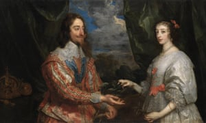 Van Dyck's painting of Charles I and Henrietta Maria