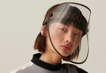 The Shield Visor, by Louis Vuitton.