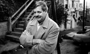 'A very easy writer to read': Armistead Maupin near his San Francisco home in October 1989