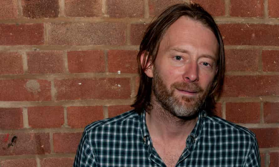 Radiohead singer and Oxfam donor Thom Yorke.