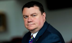 Steve White, who has been chair of the Police Federation for three years.