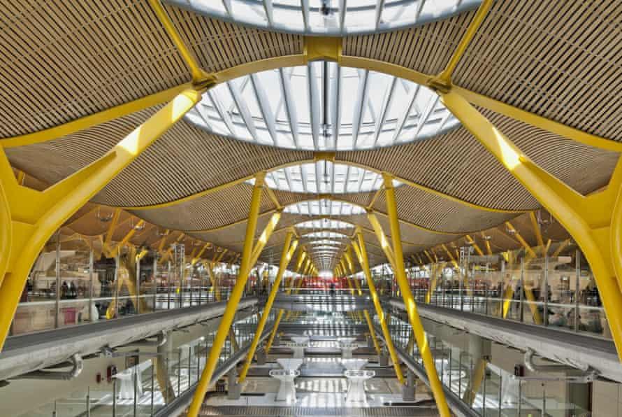 Madrid Barajas Airport, Spain.