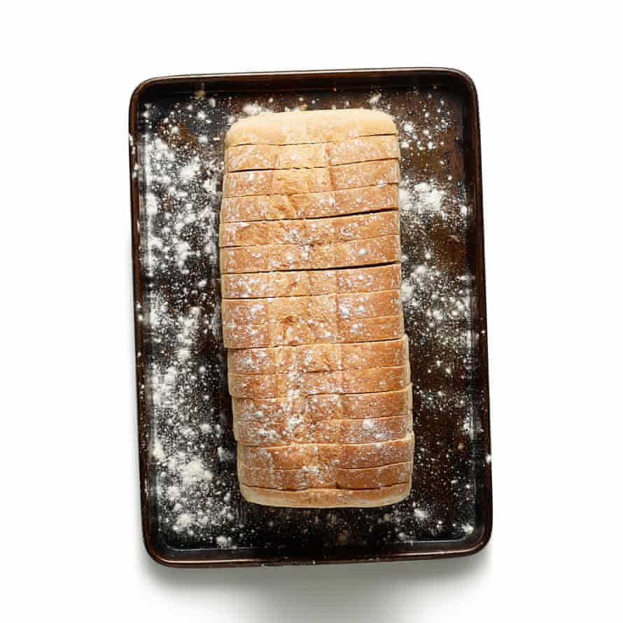 The perfect croque monsieur step 1
