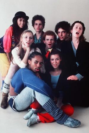 Irene Cara (Coco), Antonia Franceschi (Hilary), Gene Anthony Ray (Leroy), Barry Miller (Ralph), Paul McCrane (Montgomery), Laura Dean (Lisa), Lee Curreri (Bruno) y Maureen Teefy (Doris ).