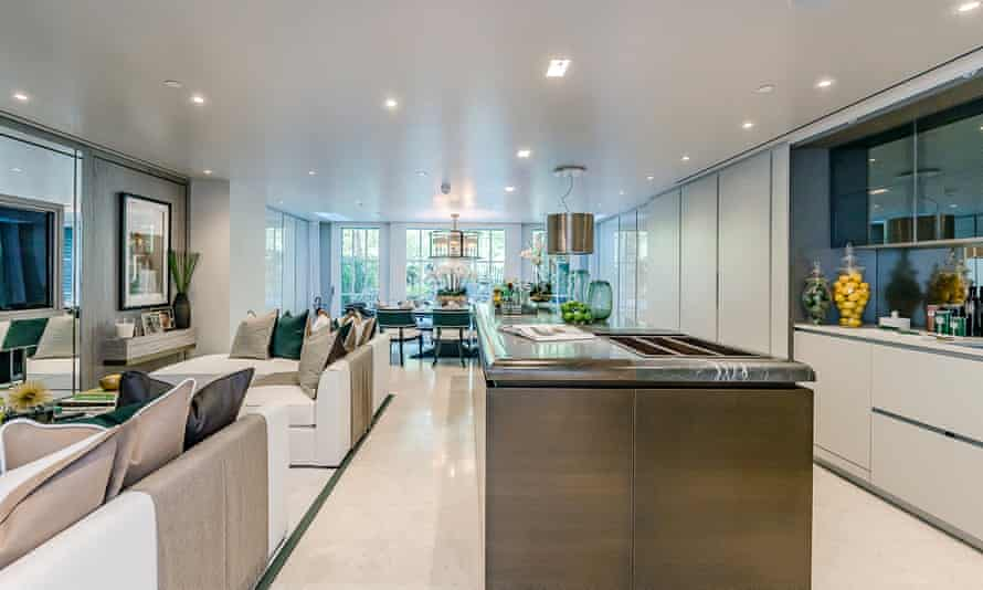 Interior shot of 26 Old Queen Street in London's St James's district, sold for a snip, at just £15.4m.