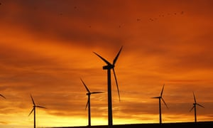 Donald Trump's vision of the future may not include windfarms, but countries can be run on renewables.