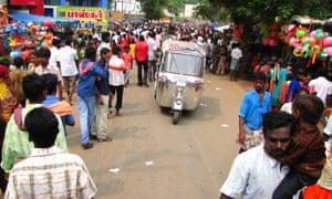 Rickshaw Challenge India