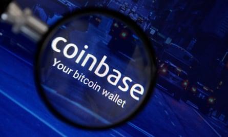 Coinbase's logo