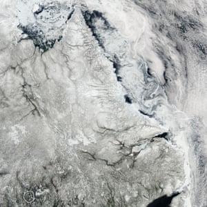 Canada Labrador coast