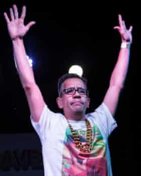 Deaf Rave founder Troi Lee.