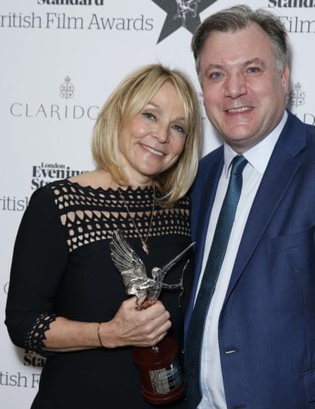 Ed Balls and Helen Fielding