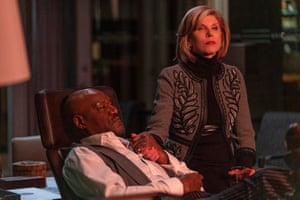 The One About the End of the WorldTHE GOOD FIGHT Pictured(l-r): Delroy Lindo as Adrian Boseman; Christine Baranski as Diane Lockhart