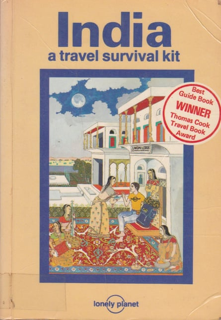 The success of the 1981 India guide was a game-changer for Lonely Planet.