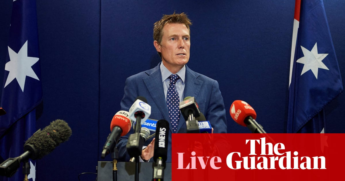 Australia news live: pressure mounts for inquiry into historical rape allegation made against Christian Porter – The Guardian