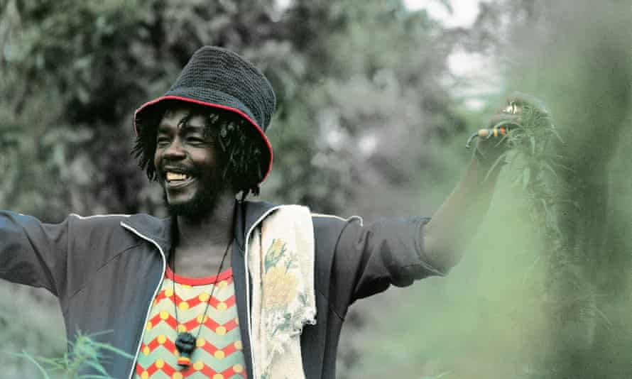 Peter Tosh … Green fingered.