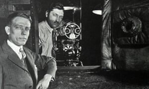 The Vitaphone camera used to film the movie.