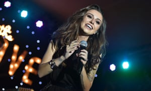 Cher Lloyd performs in Los Angeles