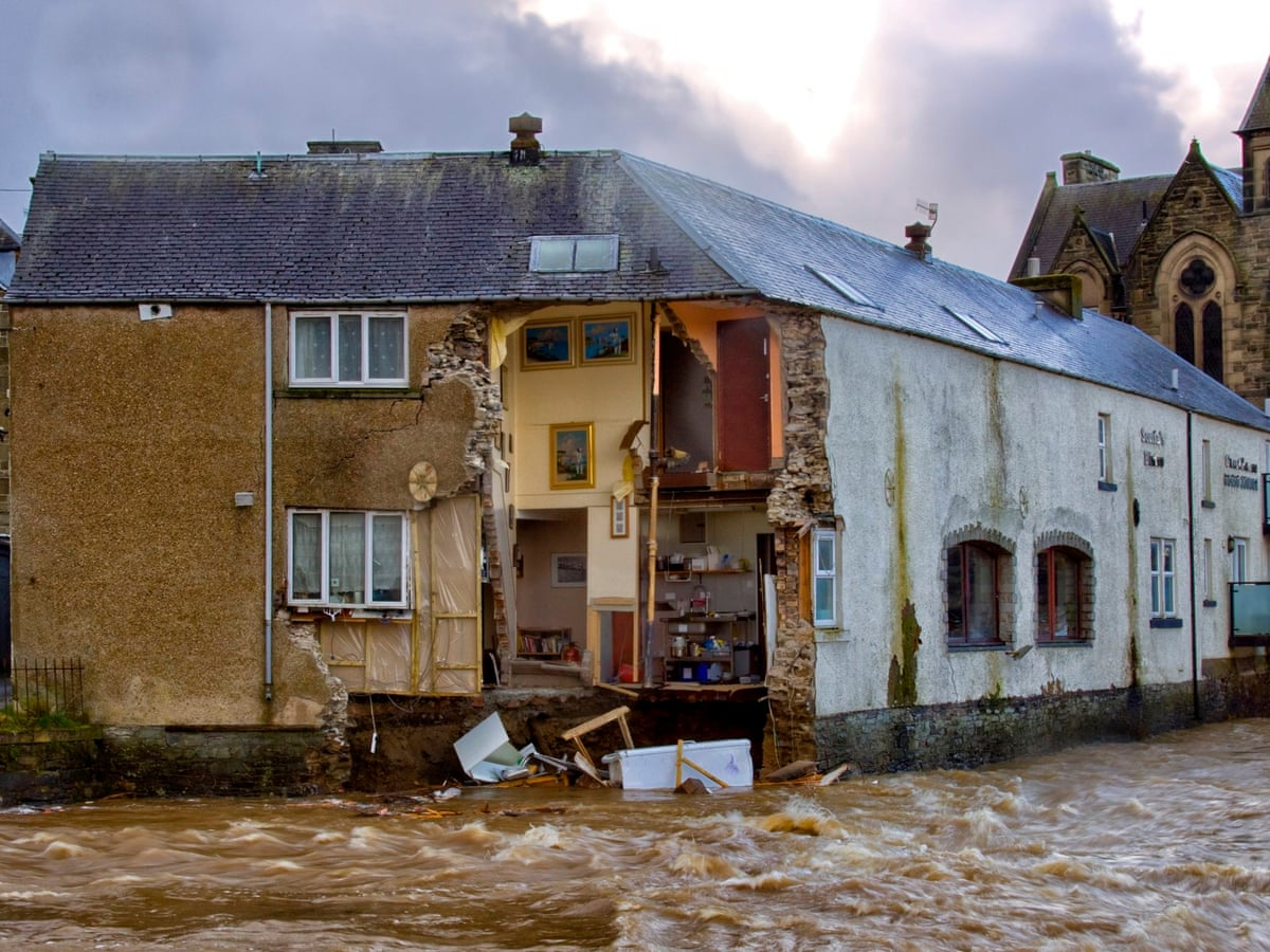 It Was A Feeling Of Terror When Will The Water Stop Britain S Flood Victims Six Months On Environment The Guardian