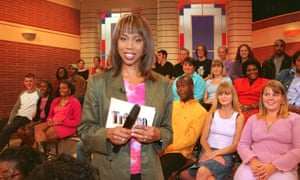 Trisha in her ITV heyday.